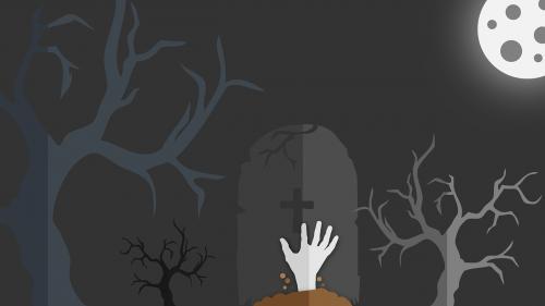 halloween zombie undead