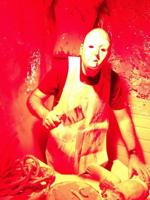 halloween butcher blood