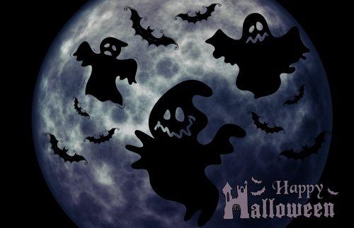 Halloween,vaiduoklis,keista,sirrealis,atmosfera,creepy,siluetas,laimingas Halloween,vaiduoklis
