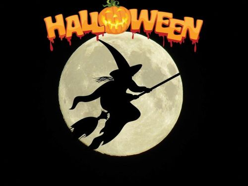 halloween the witch weird