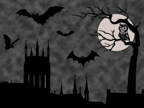 halloween background halloween scene spooky