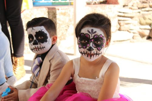 halloween costume day of the dead mexico