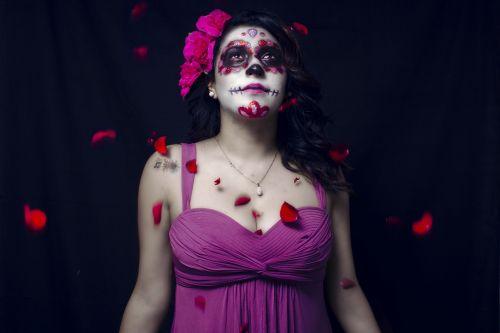halloween costume catrina muerte