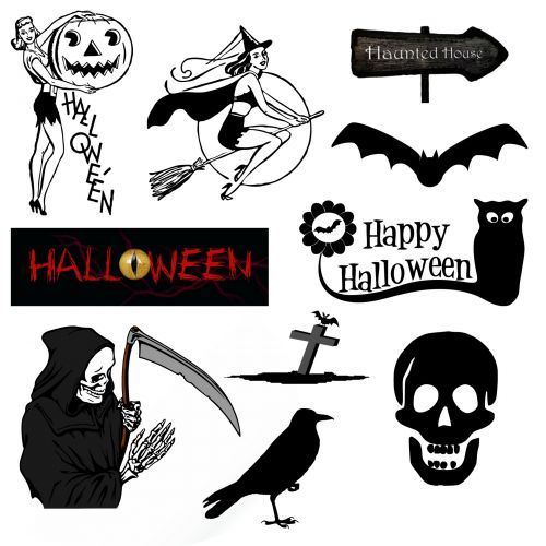 Halloween Icons And Symbols