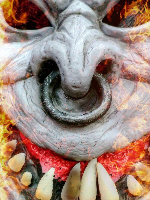 Halloween Monster Face