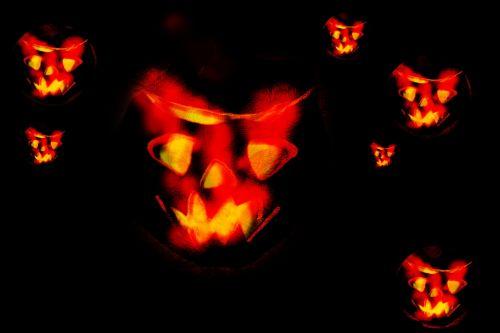 Halloween Turnip Lantern