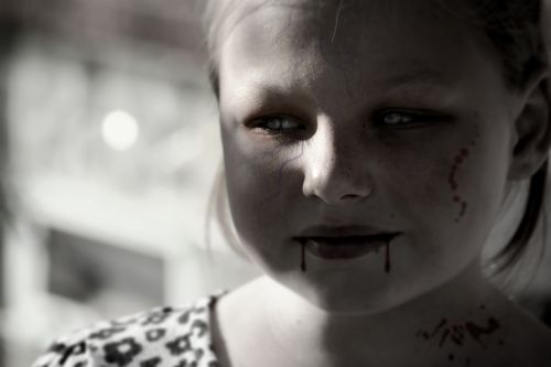 Halloween Vampire Girl