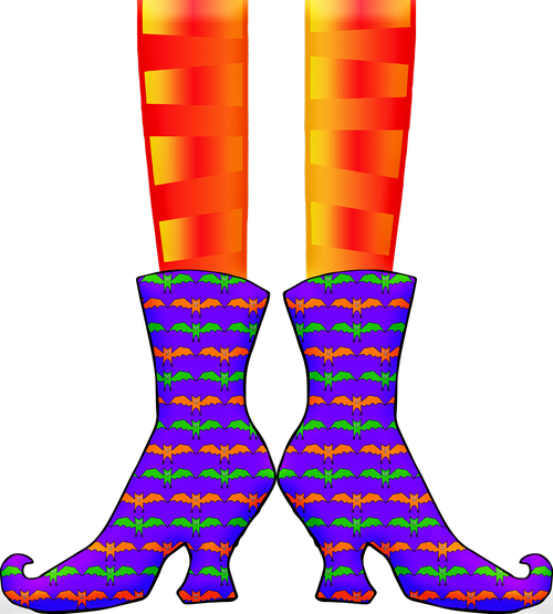 halloween witch  witch's legs  witch
