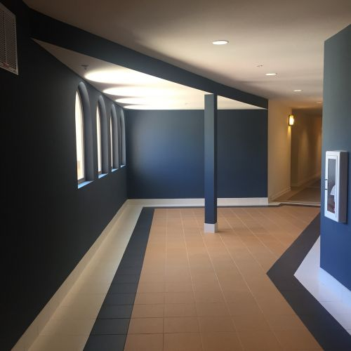 hallway indoors angles