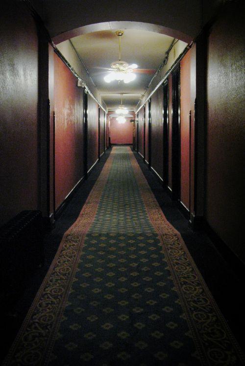 hallway hotel spooky