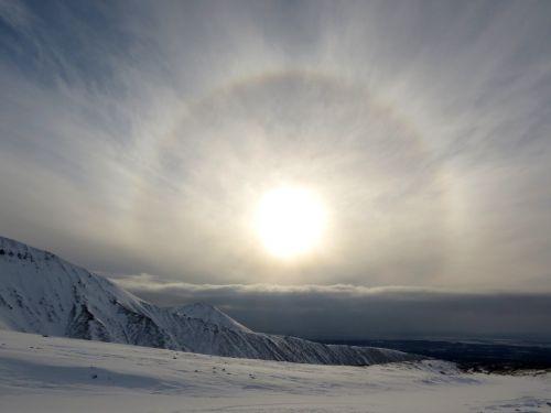 halo sun circle