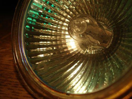 halogen bulb spotlight light
