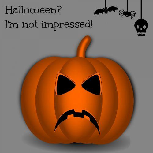 Halloween Ecard With Pumpkin