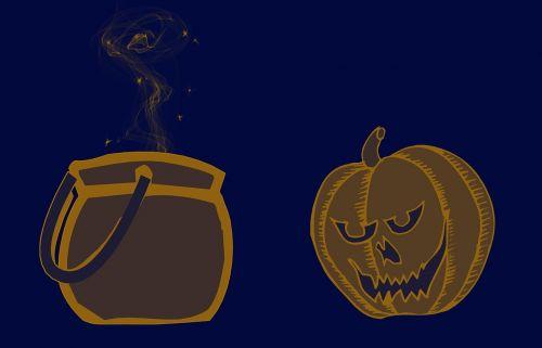 haloween trick or treat pumpkin