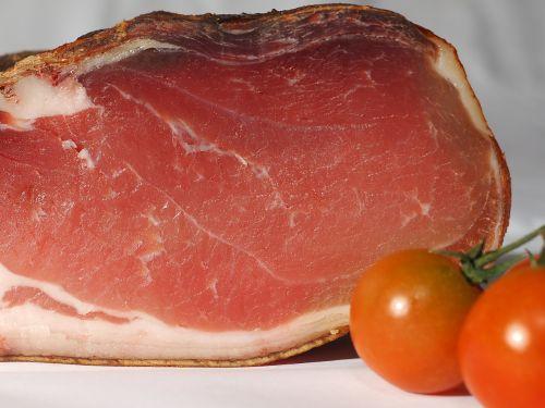 ham bacon eat