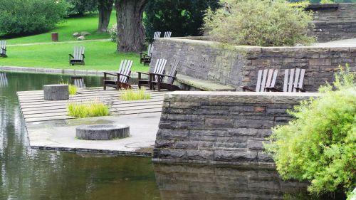 hamburg park seating arrangement