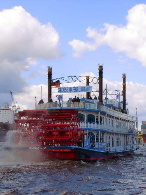 hamburg harbour cruise steamboat