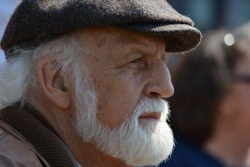 man old white beard