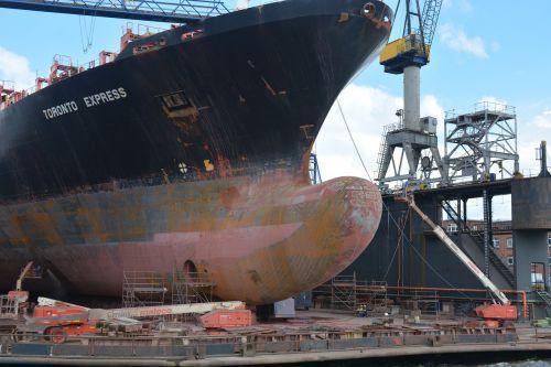 hamburg shipyard repair