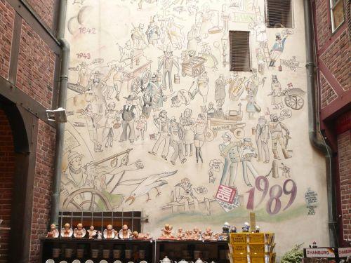hamburg kramer offices houses wall