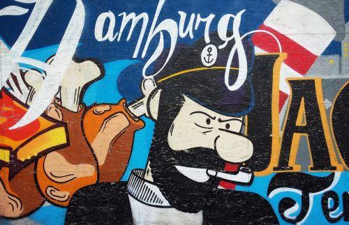 hamburg germany murals