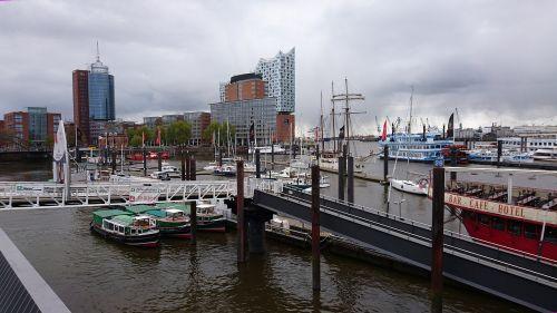 hamburg port overseas bridge