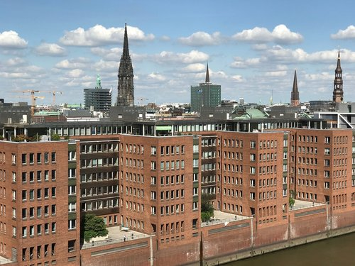 hamburg  city  architecture