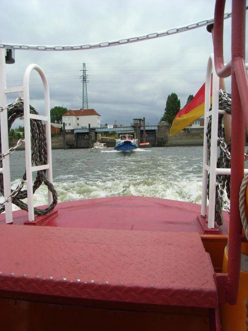 hamburg port lock
