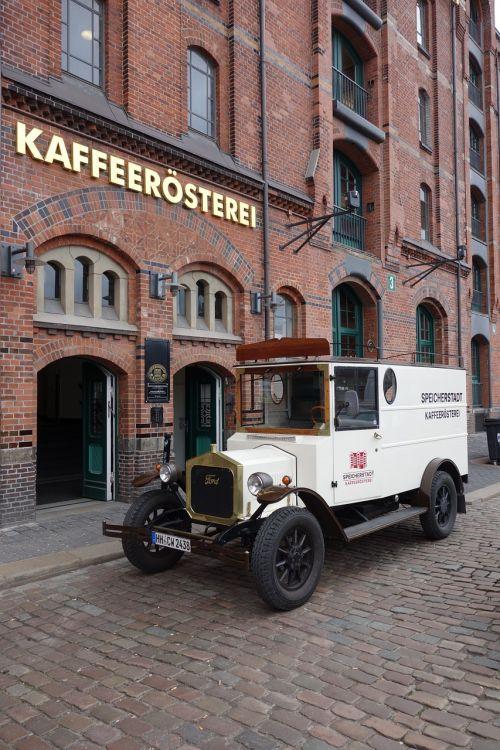 hamburg speicherstadt oldtimer