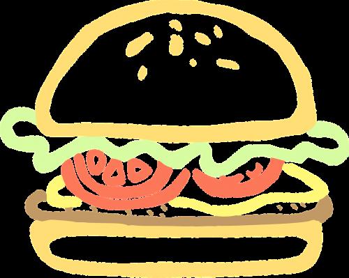 hamburger food burger