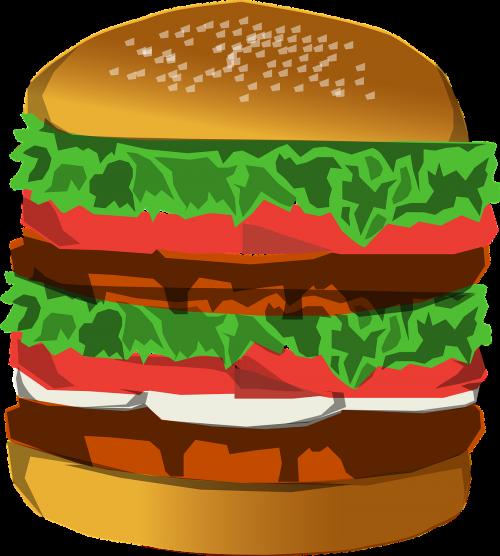 hamburger deluxe huge