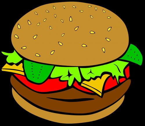 hamburger cheeseburger lunch