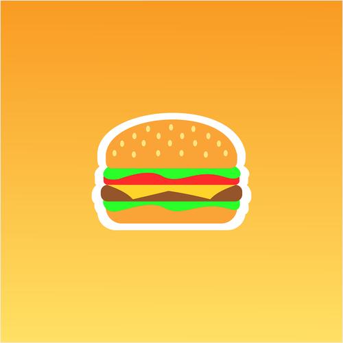 hamburger  burger  buns