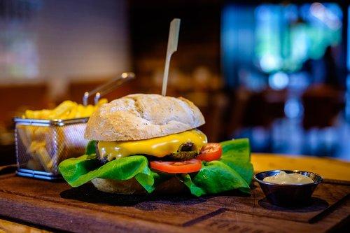 hamburger  restaurant  food