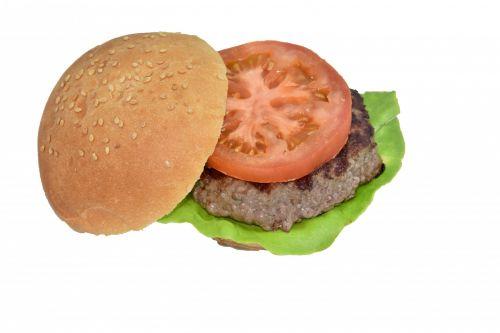 Hamburger Open Top Bun