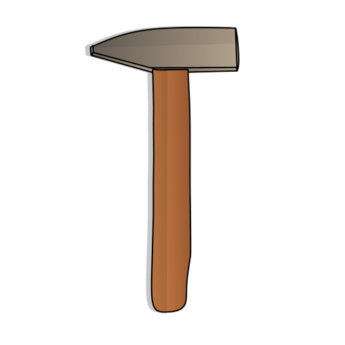 hammer cut out work tool