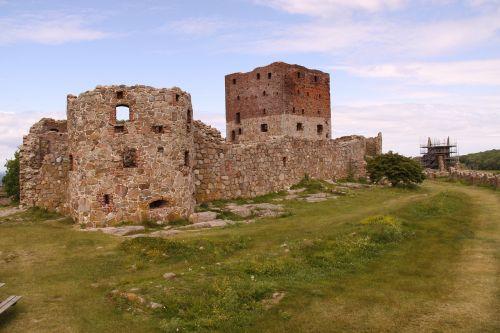 hammershus castle ruin