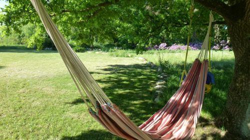hammock garden relax