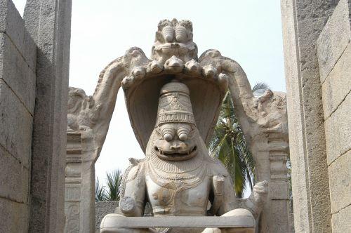hampi temple figure