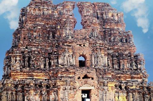 hampi  temple  india