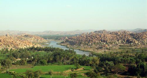hampi india view