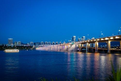 han river  seoul  river