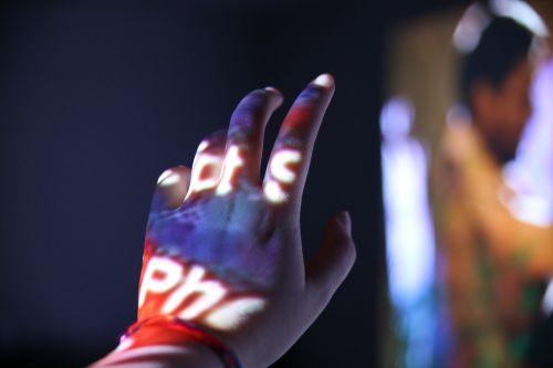 hand projection light