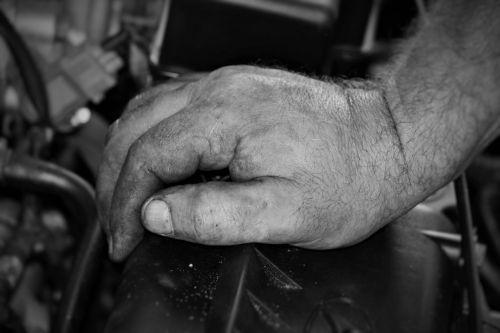 hand mechanic motor