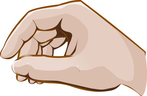 hand fingers grip