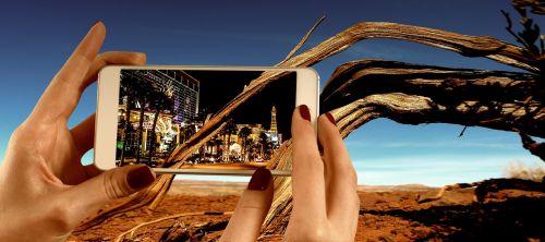 mobile phone desert las vegas