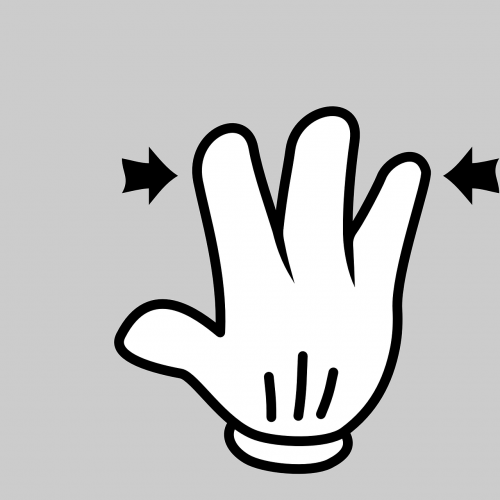 hand finger gesture
