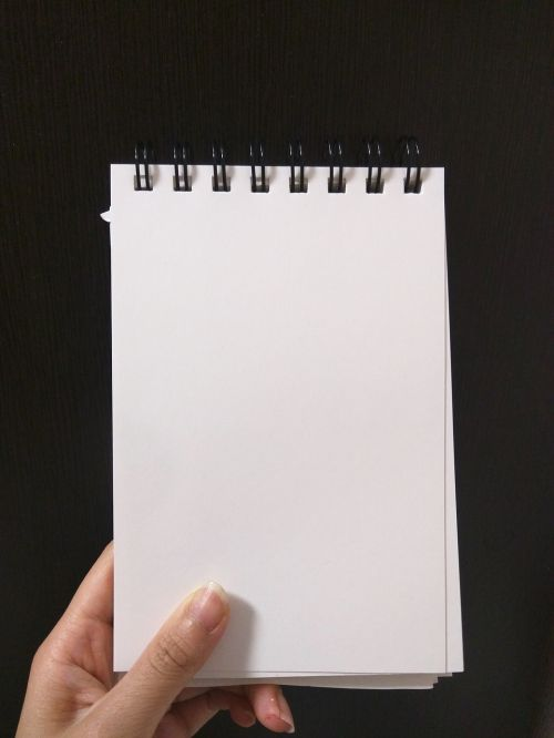 hand note memo