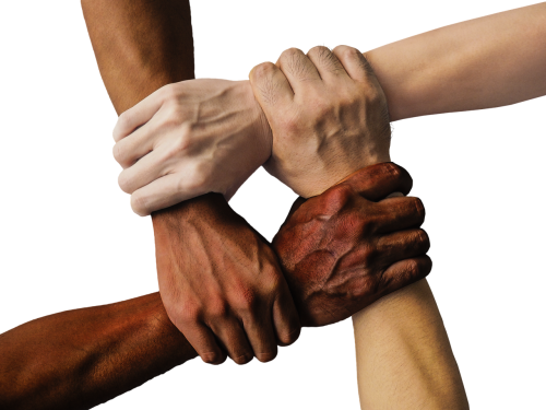 hand united hands united