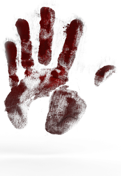hand handprint color